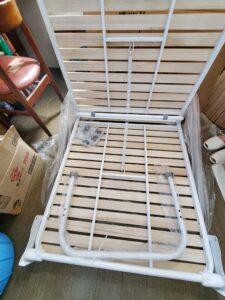 タンスのゲン 折りたたみ桐すのこベッド